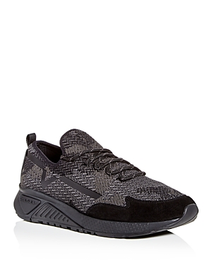 Diesel Men's S-kby Knit Lace Up Sneakers