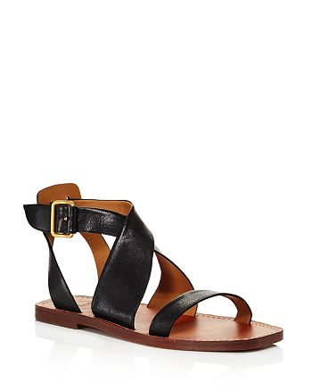 10f1bd13df4 Chloé Women's Virginia Leather Ankle Strap Sandals | Bloomingdale's