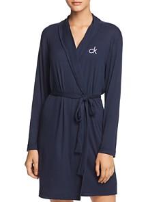 Calvin Klein - Hashtag Sleep Jersey Knit Sleep Robe