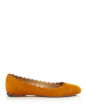 Chloé - Women's Lauren Scalloped Ballet Flats