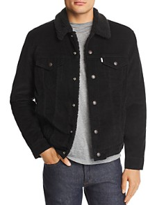 Levi's - Faux Shearling-Lined Corduroy Trucker Jacket - 100% Exclusive
