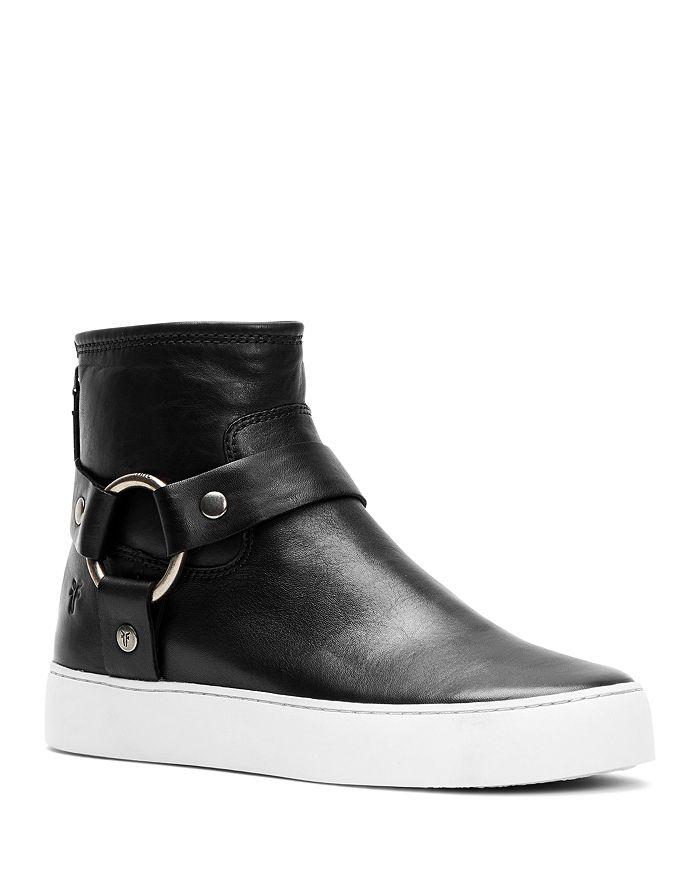 Frye - Women's Lena Almond Toe Leather Western Booties