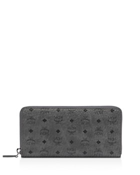 MCM - Visetos Large Zip Wallet