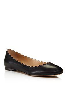 Chloé - Women's Lauren Leather Ballet Flats