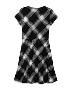 AQUA - Girls' Plaid Dress, Big Kid - 100% Exclusive