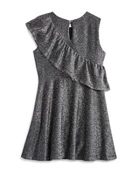 Bardot Junior - Girls' Mya Ruffled Shimmer Dress - Big Kid