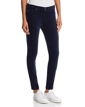 AG - Velvet Ankle Legging Jeans in Big Blue Night - 100% Exclusive