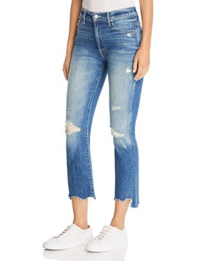The Insider Chewed-Hem Cropped Flared Jeans In Better When It'S Wrong