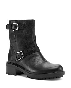 Botkier - Women's Marlow Leather Moto Boots