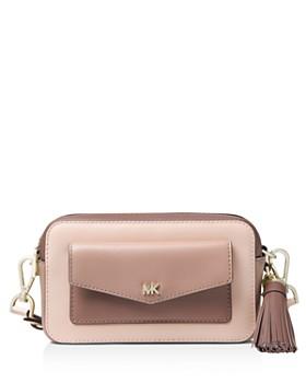 MICHAEL Michael Kors - Small Pocket Leather Camera Bag