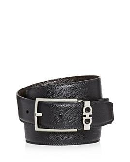 Salvatore Ferragamo - Men's Gancini Keeper Reversible Leather Belt