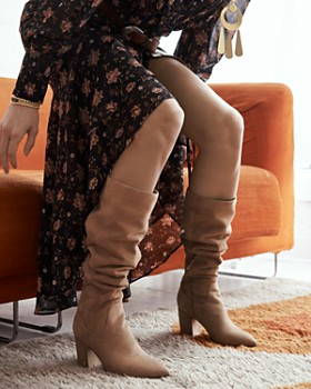 Sam Edelman - Women's Hai Suede Tall Boots - 100% Exclusive