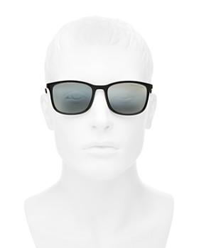 b53592024c ... 56mm Prada - Men s Linea Rossa Polarized Brow Bar Aviator Sunglasses