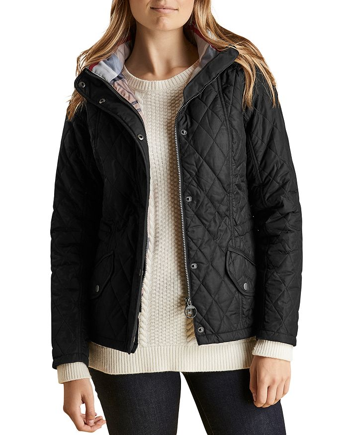 12ed689af950 Barbour Millfire Diamond Quilted Jacket