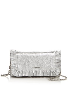 Ted Baker - Orsa Matinee Leather Ruffle Convertible Crossbody