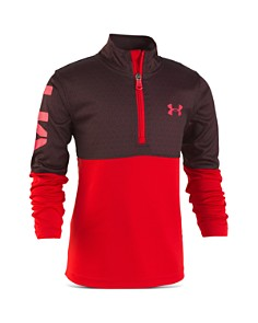 Under Armour - Boys' Razor Quarter-Zip Shirt - Little Kid