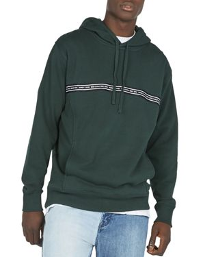 BARNEY COOLS B.Quick Tape Hooded Sweatshirt in Forest