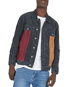 Barney Cools - B.Rigid Color-Block Corduroy Jacket