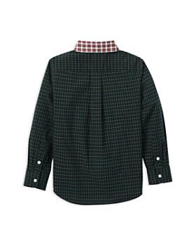 Ralph Lauren - Boys' Poplin Contrast Plaid Shirt - Little Kid