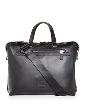 COACH - Academy Leather Holdall Briefcase