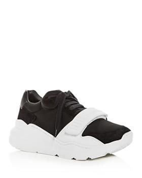 9e2db97f3d Burberry - Women's Regis Lace-Up Platform Sneakers ...
