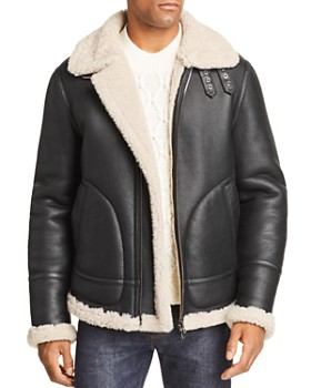 Mens Shearling Coat Bloomingdale S
