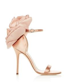 Giuseppe Zanotti - Women's Flower-Embellished High-Heel Sandals