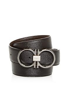 Salvatore Ferragamo Double Gancini Reversible Leather Belt - Bloomingdale's_0