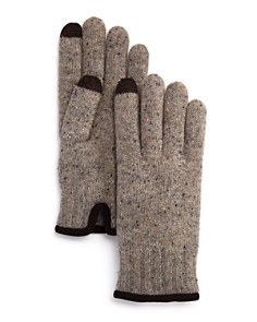 The Men's Store at Bloomingdale's - Speckled-Knit Tech Gloves - 100% Exclusive