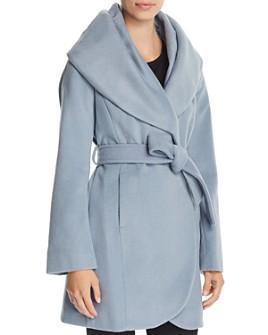 T Tahari - Marla Oversized Shawl Collar Coat