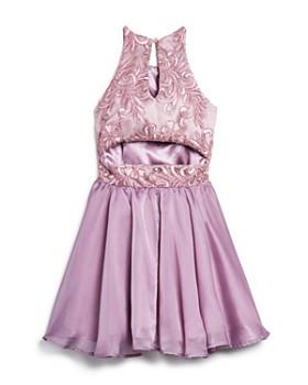 108d337cff3 ... Miss Behave - Girls  Josie Floral-Embroidered Dress - Big Kid