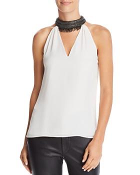 Ramy Brook - Raelyn Embellished-Collar Top