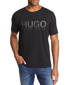 HUGO Dolive Tonal-Logo Graphic Tee - Bloomingdale's_0