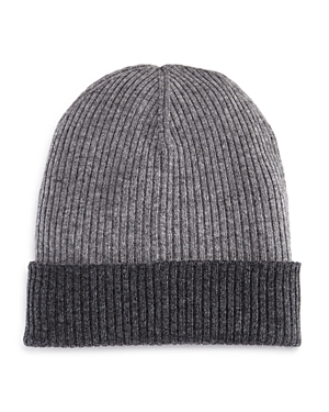 The Men's Store at Bloomingdale's Reversible Knit Hat - 100% Exclusive