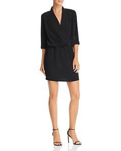 Amanda Uprichard - Venus Crossover Mini Dress