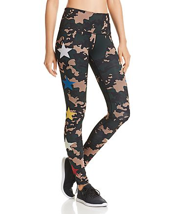 29e68eaa11a74 Noli Yoga Combat Camo Star Leggings | Bloomingdale's