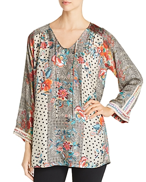 Johnny Was Blouses JOLIE EMBROIDERED BLOUSE
