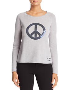 Lisa Todd - Give Peace A Chance Sweater