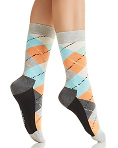 Happy Socks Argyle Crew Socks - Bloomingdale's_0
