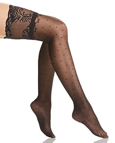 Natori - Diamond Dot Thigh-Highs