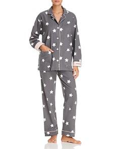 PJ Salvage - Starry-Eyed Flannel Cotton Pajama Set - 100% Exclusive