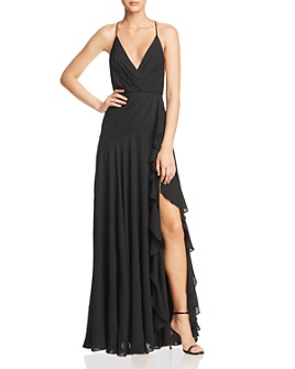 Fame and Partners - The Naya Draped Gown