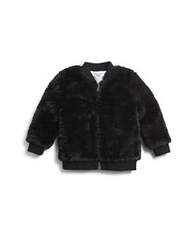 Splendid - Girls' Faux-Fur Bomber Jacket - Baby