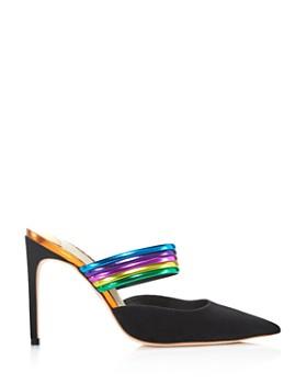 Sophia Webster - Women's Joy Pointed Toe Leather & Suede High-Heel Pumps