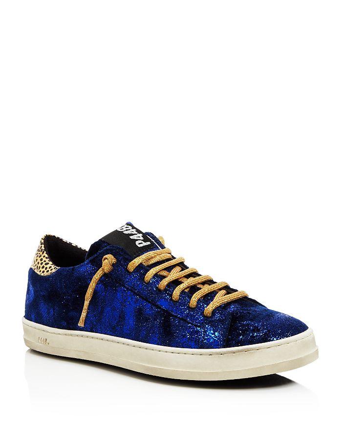 571dc1363b1 P448 - Women s John Velvet Low Top Sneakers
