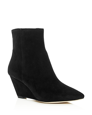 Donald Pliner Women's Jae Suede Wedge Booties