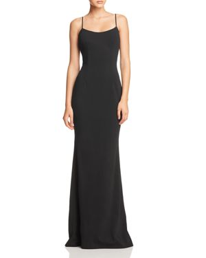 KATIE MAY Forget Me Knot Gown - 100% Exclusive in Black
