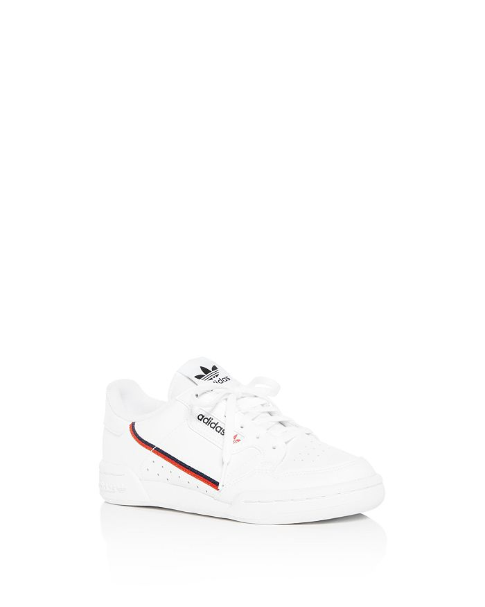 Adidas - Boys' Continental 80 Leather Lace Up Sneakers - Big Kid