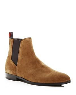 HUGO - Men's Boheme Chelsea Suede Boots