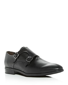 To Boot New York - Men's Benjamin Leather Monk Strap Oxfords
